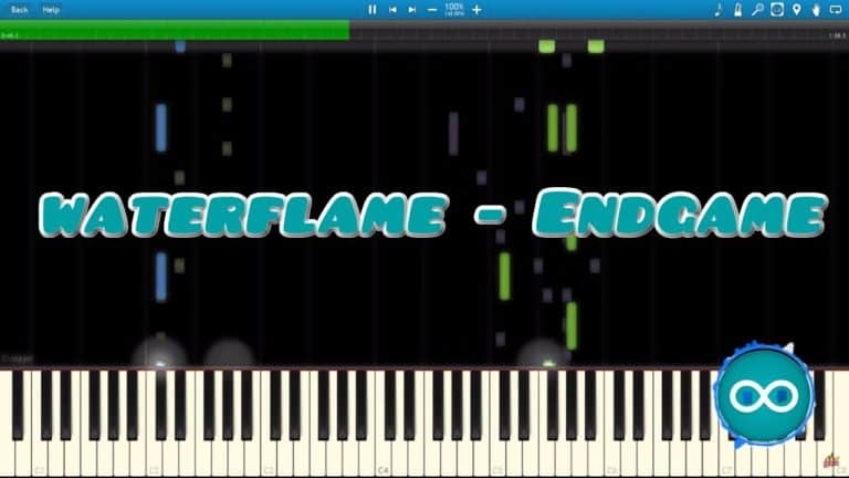 Waterflame – Endgame – Midi Synthesia(Piano)