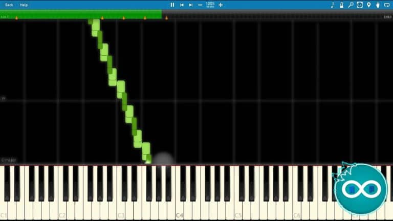 Geometry Dash – DJ-Nate – Theory Of Everything 2 Redone Piano Midi Synthesia