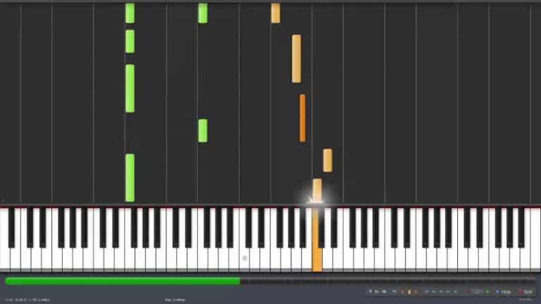 Geometry Dash – Waterflame – Hexagon Force Piano Midi Synthesia
