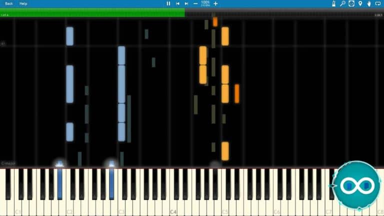 F-777 The Seven Seas Piano Midi Synthesia