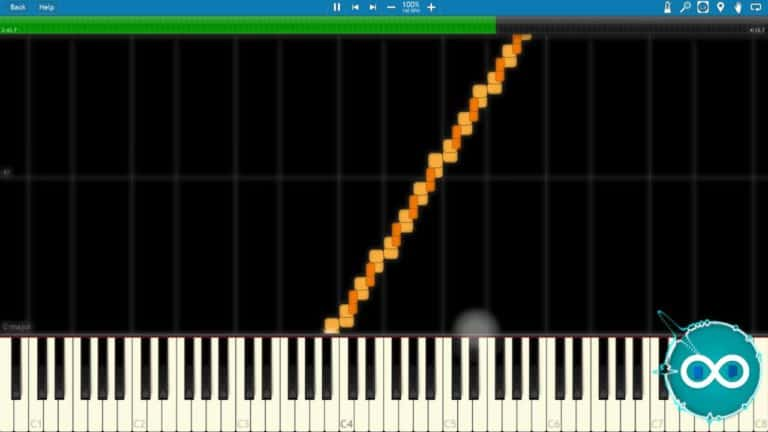 Waterflame – Clutterfunk Midi Synthesia Piano