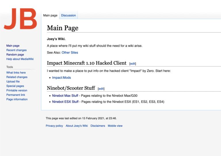New Wiki