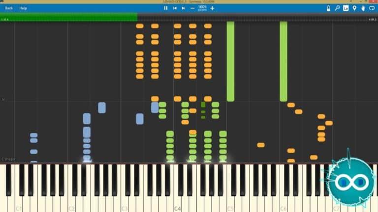 Lensko Cetus Midi/Piano Cover
