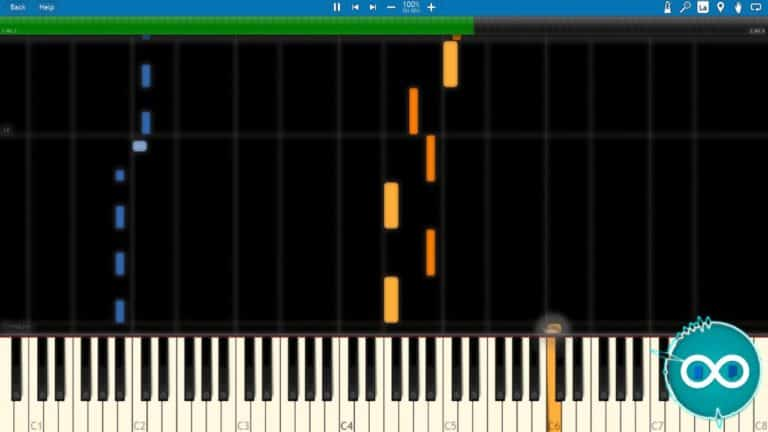 Waterflame/Castle Crashers – Space Pirates Midi Piano Synthesia