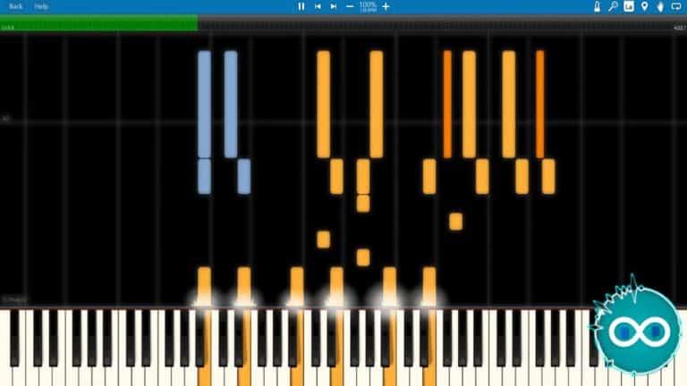 Creo – Carnivores Piano Midi Synthesia Cover