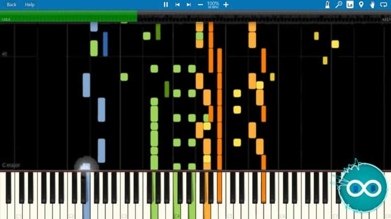 POLO & PAN – Canopée midi piano synthesia cover