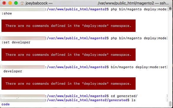 "Magento 2 how to fix ""There are no commands defined in the 'setup' namespace."" errors"