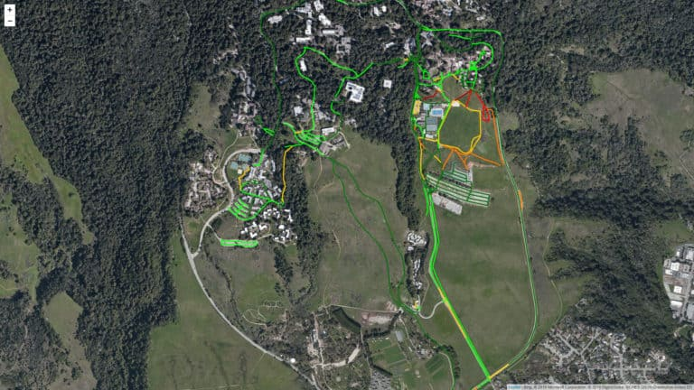 UCSC Smoothness Map