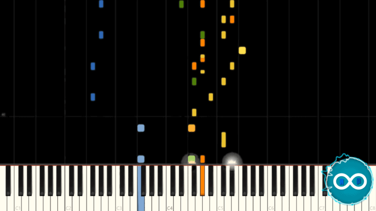 Waterflame – Swirl! Piano Midi Synthesia Cover