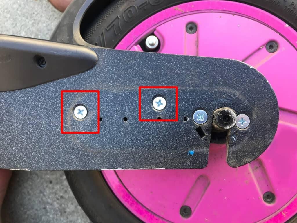 Motor Wireguard screws