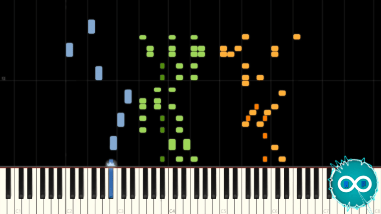 Mario Kart Coconut Mall Piano Midi Synthesia Cover